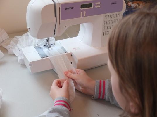 Costume Sewing (Making Ruffs)